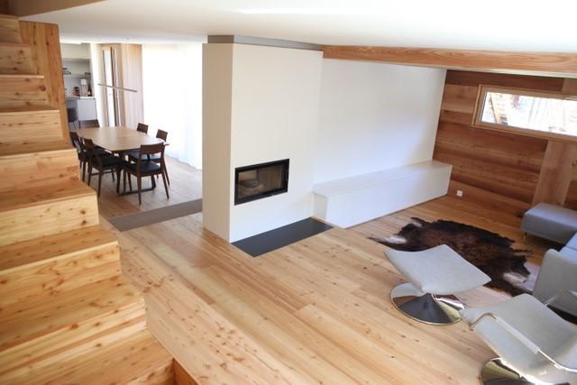 2017 Gesamtumbau altes Walliser Haus im Goms