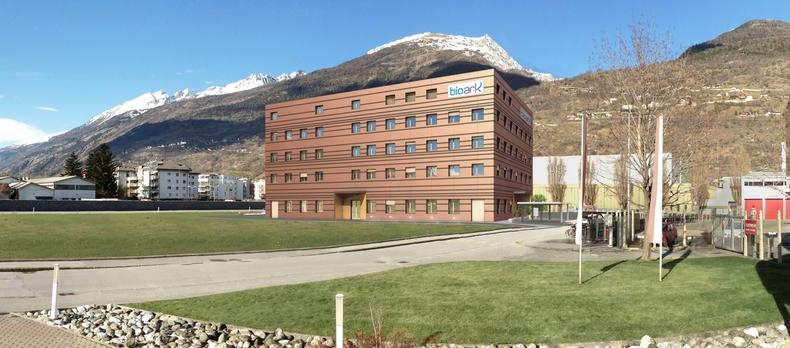 2016 Neubau Bioark I Dienstleistungs- Gewerbe- und Produktionsgebäude