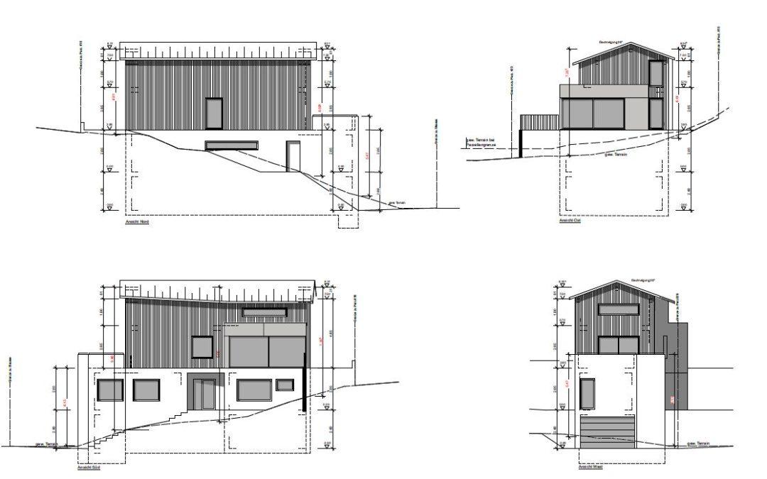 Konzept Einfamilienhaus in Bitsch
