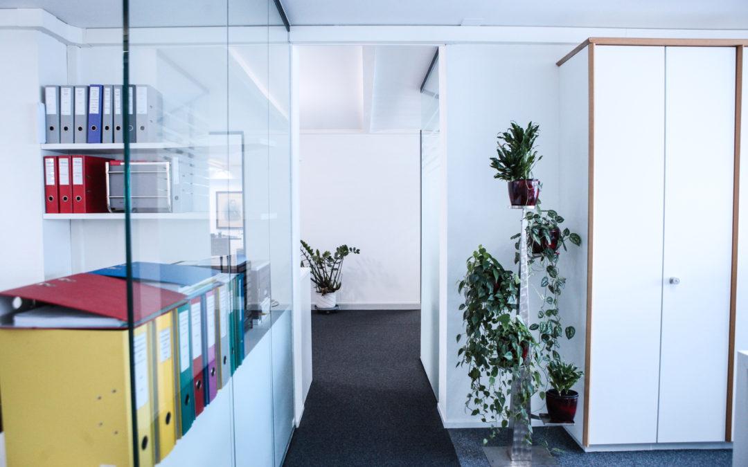 Umbau Büroräumlichkeiten in Naters