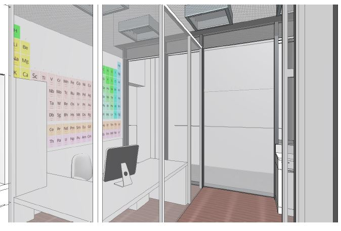 Erneuerung VE-Labore in Lalden