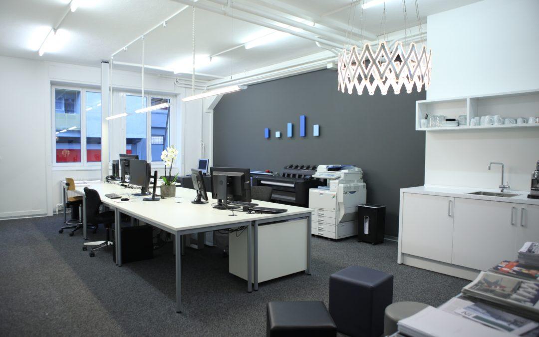 Umbau Büro in Brig