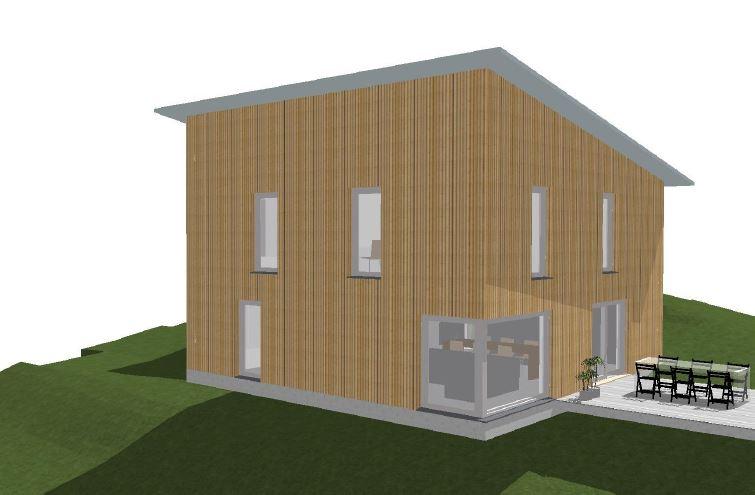 Konzept Einfamilienhaus in St. Niklaus