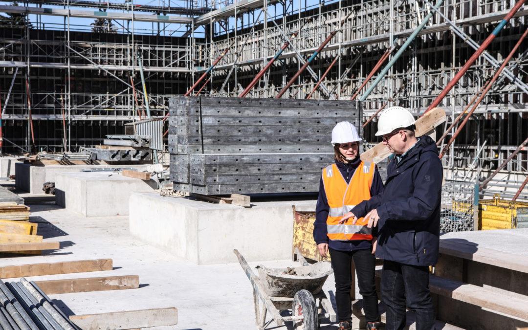 2019 Neubau Bioark II  Dienstleistungs- Gewerbe- und Produktionsgebäude