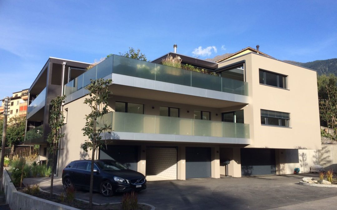 2016 Neubau Mehrfamilienhaus mit Attikawohnung