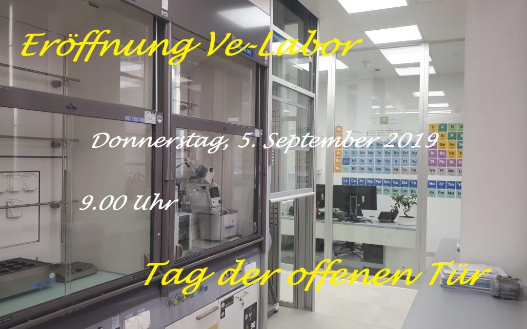 2019 Erneuerung VE-Labore in Lalden