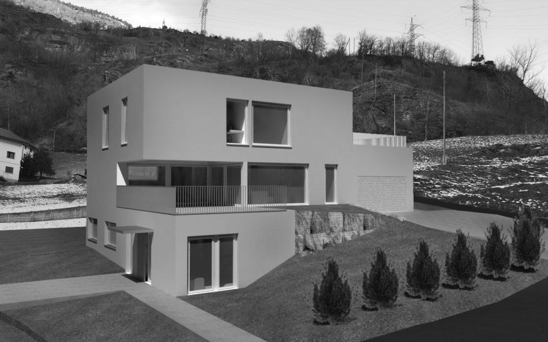2020 Neubau Einfamilienhaus in Lalden