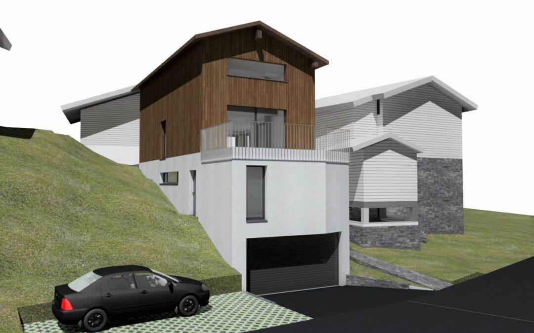 2021 Neubau Einfamilienhaus Bitsch